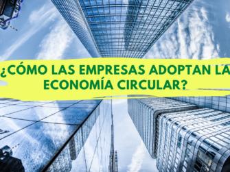 Empresas Adoptan la economía circular