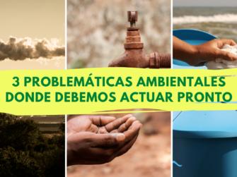 3 problematicas medioambientales